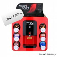 Nescafe &Go Dispenser Machine (Online Exclusive Offer - Limited Stock)